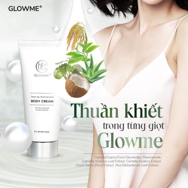 Kem dưỡng trắng da body toàn thân GLOWME nhập khẩu 100% Hàn Quốc cao cấp