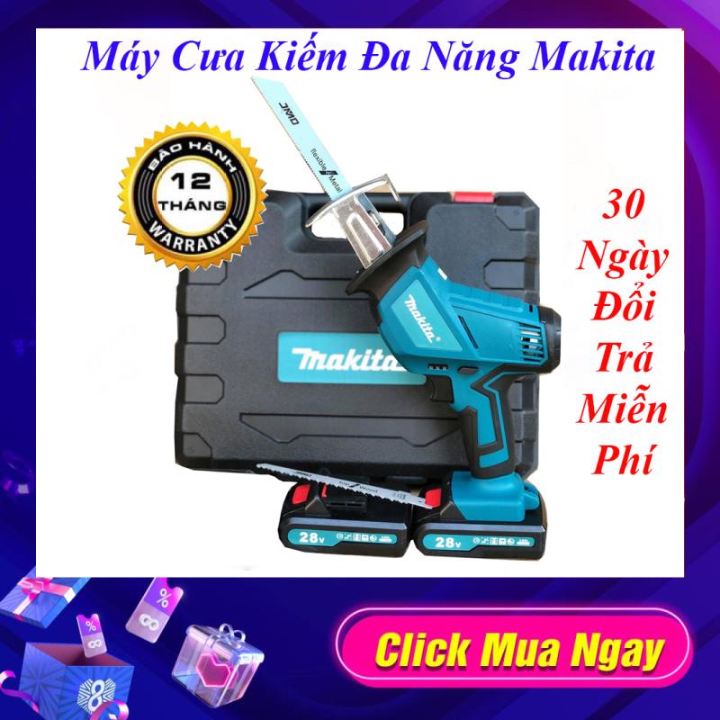 Máy Cưa Đa Năng Dùng Pin Makita 28V. 2 Pin Bảo Hành 12 Tháng- 1 Đổi 1 Trong 30 Ngày