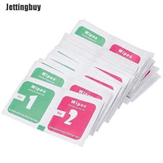 Jettingbuy 30 Cái lốc Ống Kính Máy Ảnh Làm Sạch Vải Màn Hình LCD Loại Bỏ Bụi Giấy Lau Khô Ướt thumbnail