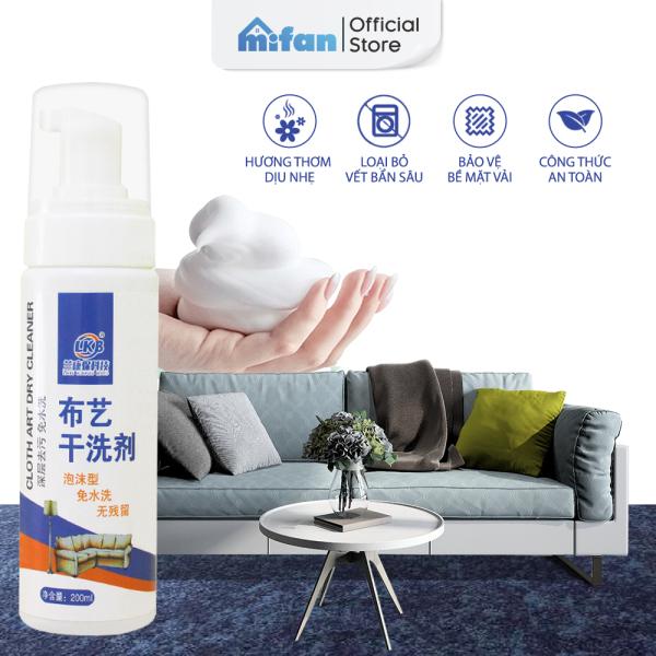 Bình Xịt Vệ Sinh Sofa LKB 200ml - Tẩy Sạch Vết Bẩn Sofa, Rèm Cửa, Thảm, Ghế Ô Tô, Xe Hơi - Không Hại Bề Mặt - MIFAN