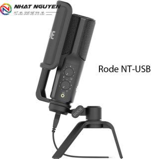 Micro thu âm Rode NT USB - Rode NT-USB - Bảo hành 12 tháng