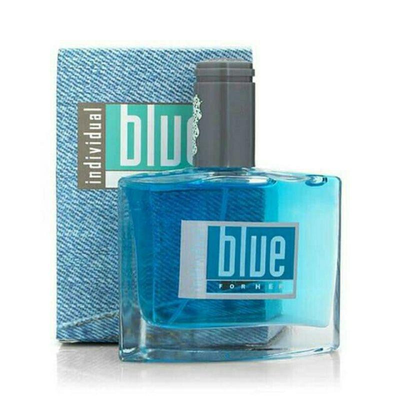 Bộ 2 Nước hoa nữ Blue for Her 50 ml hương thơm nồng nàn dạng chai thủy tinh xịt