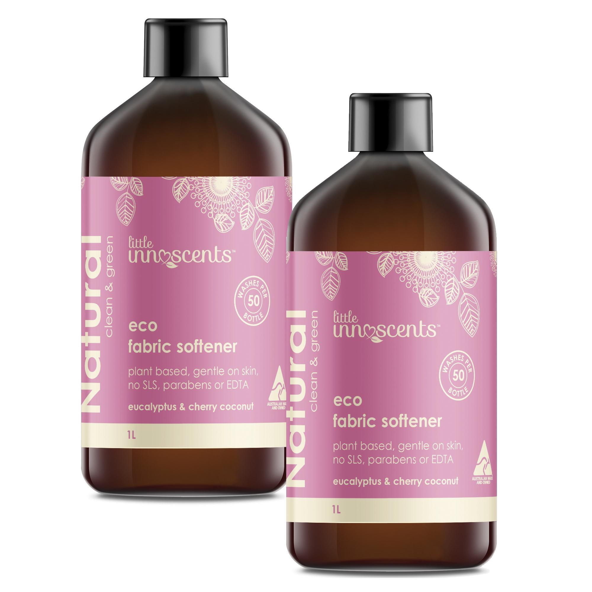 Bộ 2 chai Little Innoscents - Nước xả vải sinh thái - Eco Fabric Softener
