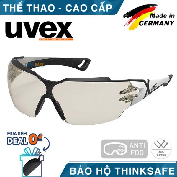 Kính bảo hộ UVEX PHEOS CX2 kính chống bụi, chống hơi nước chống trầy xước vượt trội, Chống tia UV, mắt kính đi xe máy, lao động, phòng dịch (Tròng màu trà) - Bảo Hộ Thinksafe