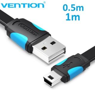 Cáp sạc và truyền dữ liệu cổng V3(USB mini 5Pin) thương hiệu Ventionvvvvvvvvvv thumbnail