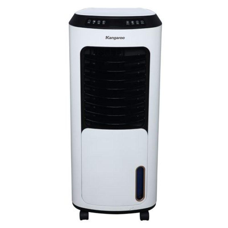 Máy làm mát không khí Kangaroo KG50F68, Chức năng làm mát tạo độ ẩm và làm lạnh bằng chip điện tử , Thiết kế tràn viền hiện đại, cửa lùa độc đáo, Màn hình đèn LED, điều khiển cảm ứng