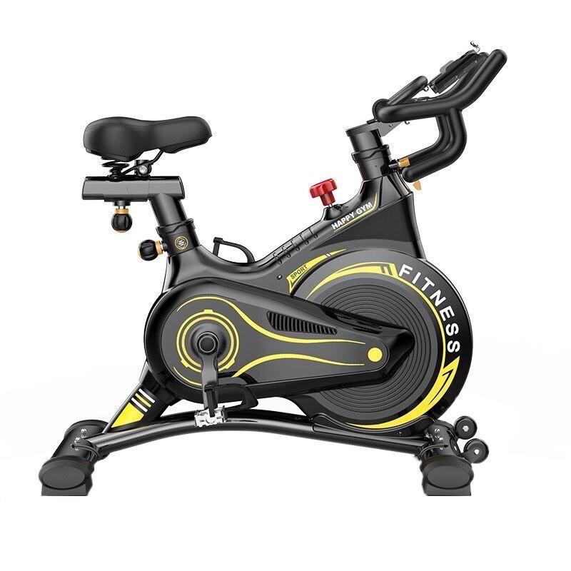 Xe đạp tập thể dục Fitness, bánh đà kháng từ - Kèm  và ảnh thật