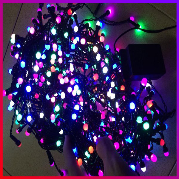 Bảng giá Dây đèn Led đen nhấp nháy siêu dài trang trí Noen, Tết, Cây cảnh