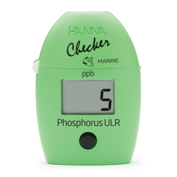 Máy đo photpho Hanna Instruments HI736 ( máy checker photpho cho bể cá nước mặn, ao hồ nuôi trồng thủy sản 0 đến 200 ppb)