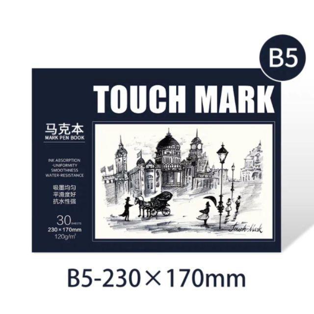 Mua Combo 3 quyển sổ vẽ cho bút Touch ( CB-Shop)