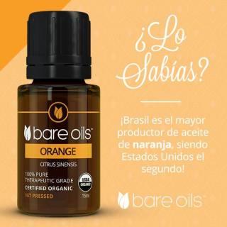 Tinh dầu cam - Orange Essential Oil (Tinh dầu hữu cơ Bare Oils - USDA Organic) 15ml Không có đánh giá thumbnail