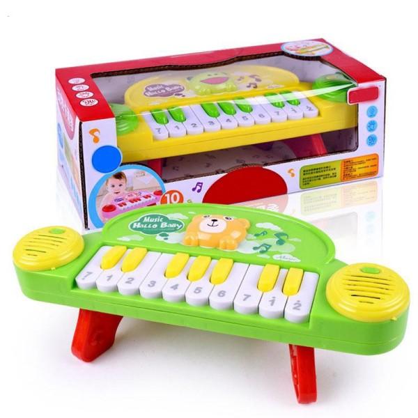 Đồ chơi nhạc cụ đàn Piano Hallo Baby giúp bé gia tăng khả năng sáng tạo và hoạt bát hơn, giúp bé phát triển toàn diện