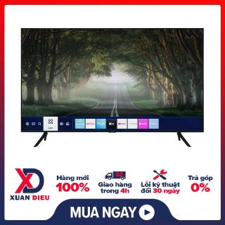 Smart Tivi Samsung 4K 50 inch UA50TU8100 Mới 2020. One Remote đa nhiệm thông minh (Tìm kiếm bằng giọng nói có hỗ trợ Tiếng Việt) Tính năng thông minh Tìm kiếm giọng nói bằng Tiếng Việt (Hỗ trợ trong Youtube), Trợ lí ảo thumbnail