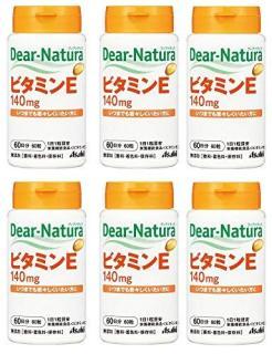 Viên uống làm đẹp da Dear Natura Vitamin E của Asahi Nhật Bản 60 ngày thumbnail