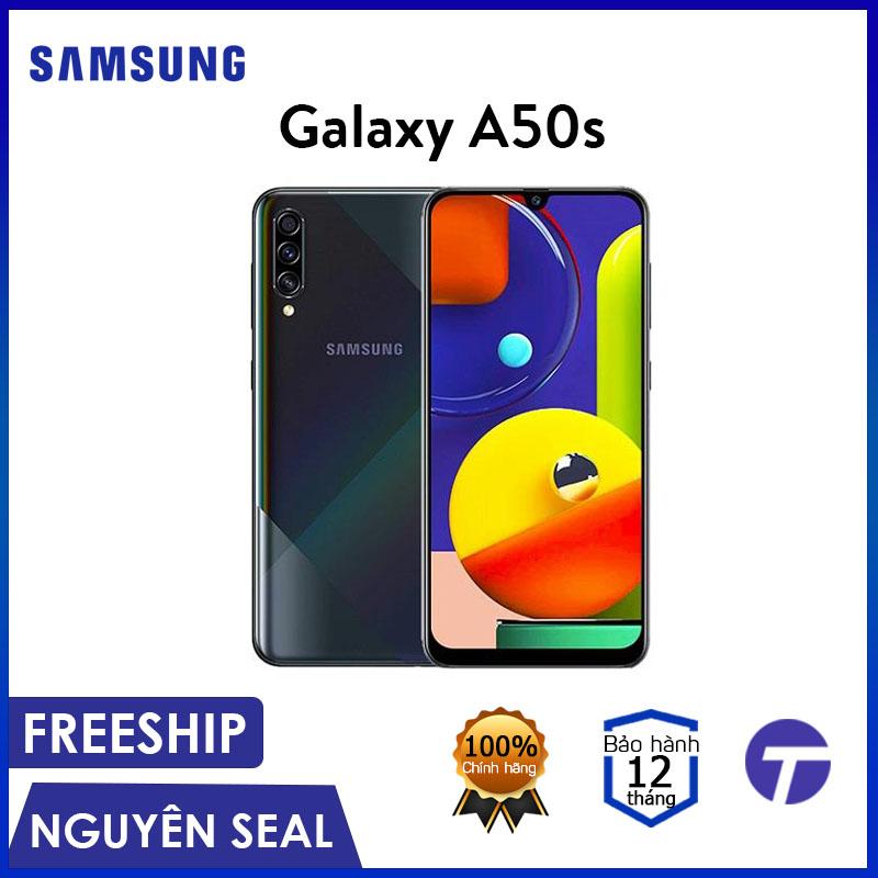 Điện Thoại Samsung Galaxy A50s 4GB/64GB - Thiết Kế Mới Lạ, Bộ 3 Camera 48MP, Quay Video Chống Rung - Bảo Hành 12 Tháng Cùng Giá Khuyến Mãi Hot