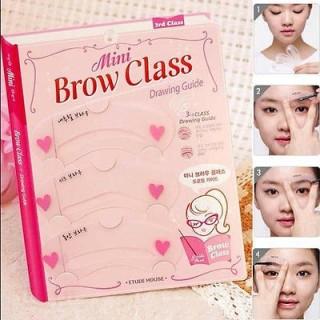 Bộ 3 Khung Kẻ Mày Mini Brow Class Drawing Guide thumbnail