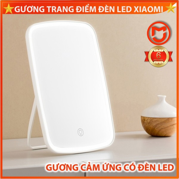 [SẴN BÁN] Gương trang điểm để bàn Xiaomi, Gương đèn led Jordan có cảm ứng giá rẻ