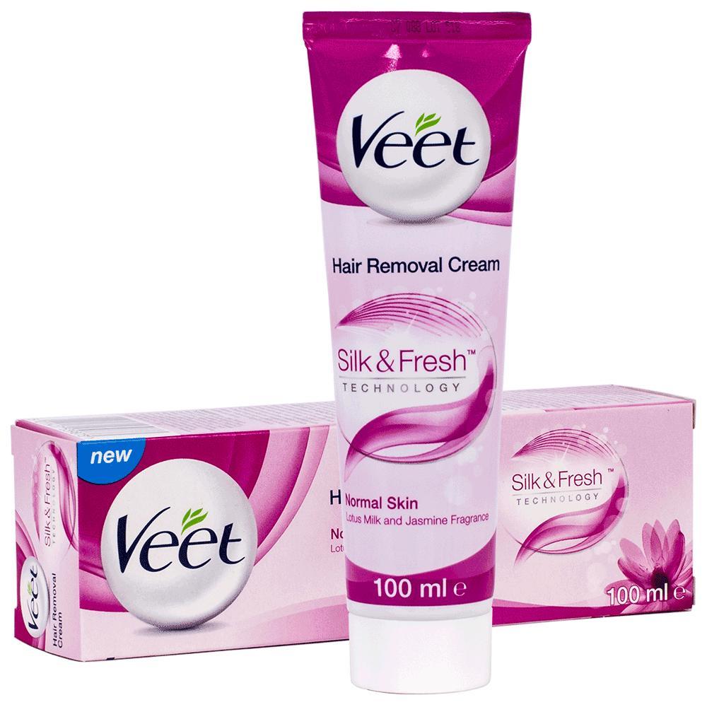 Kem Tẩy Lông Veet Hair Removal Cream Normal Skin 100ml nhập khẩu