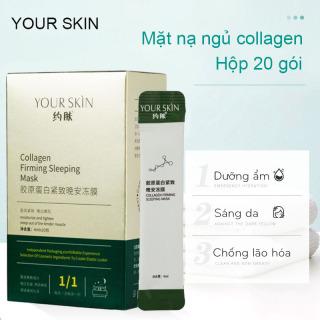 [Hộp 20 gói] Mặt nạ ngủ collagen YOUR SKIN dạng gel trắng da chống lão hóa mặt nạ ngủ cấp ẩm mặt nạ ngủ dưỡng trắng mặt nạ nội địa Trung JS-MN30 thumbnail