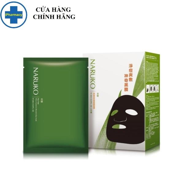 Mặt Nạ NARUKO Tràm Trà Kiểm Soát Dầu Và Giảm Mụn 26ml Tea Tree Shine Control and Blemish Clear Mask