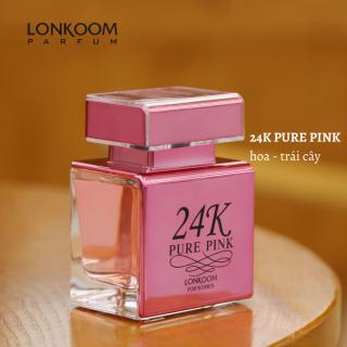 LONKOOM nước hoa cho phụ nữ 24K PURE PINK 100ml EDP thumbnail