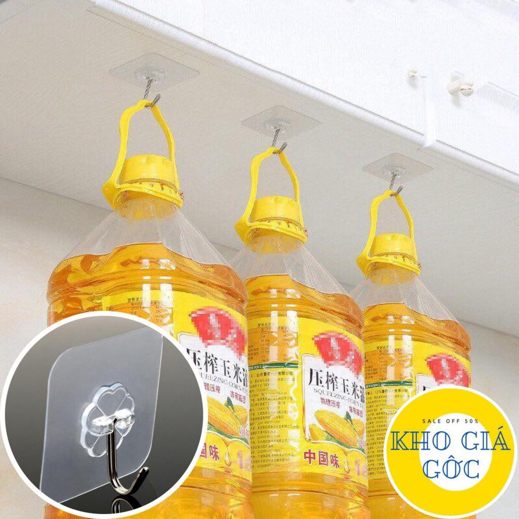 Bộ 15 Móc Treo Dán Tường Siêu Chắc Chắn Chịu Lực 10kg, Móc Dán Tường Hoa Mai Chất Liệu Thép Không Gỉ, Nhựa PVC Cao Cấp, Thiết Kế Tiện Dụng - Guty Mart