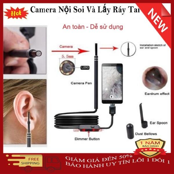 Camera Nội Soi Tai Siêu Nét Tặng Kèm Bộ Đầu Lấy Ráy là một món bảo bối lấy ráy tai vô cùng đặc biệt. Với thiết kế nhỏ gọn, độ bền cao, hình ảnh sắc nét và có khả năng tích hợp với các thiết bị công nghệ giảm 50%, bảo hành l
