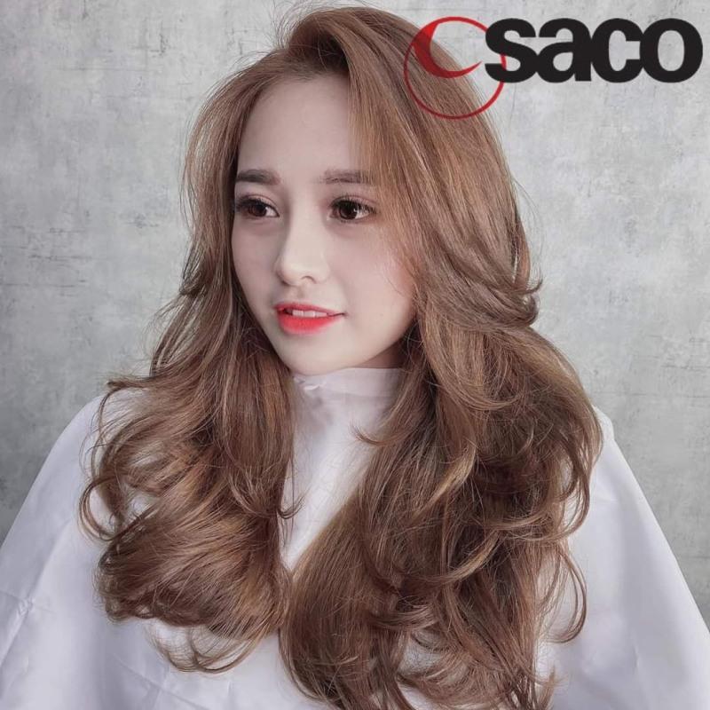 Tự nhuộm tóc màu Khói vàng tại nhà, hàng nội địa Việt Nam, không gây hư tổn cho tóc (Trọn bộ tặng gang tay, trợ nhuộm)