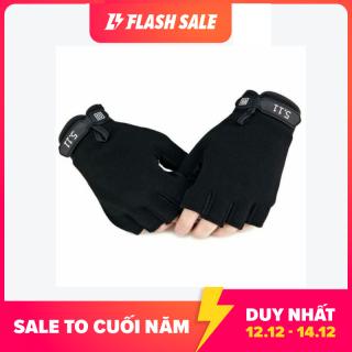 Găng tay tâ p Gym, phươ t, thê thao đa năng thiết kế hở ngón tiện dụng chất liệu vải thun co dãn tốt - 84 Store thumbnail