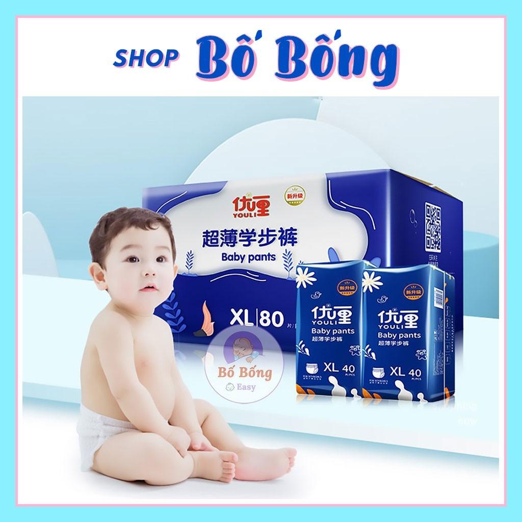 BỈM YOULI BABY PANTS dán/ quần S108/M92-M88/L84/XL80/XXL72/XXXL68