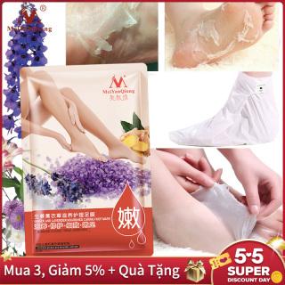 MeiYanQiong Mặt Nạ Ủ Thay Da Chân loại bỏ lớp da thô cứng Chiết xuất tự nhiên 100% Giúp nuôi dưỡng chăm sóc da chân - INTL thumbnail