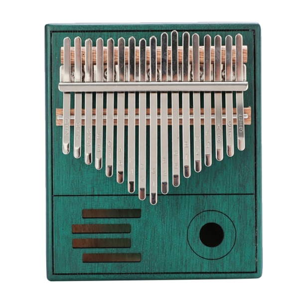 Thumb Piano 17 Keys Hand Finger Piano Portable for Kids Adults Beginners Professionals Wood Musical Instrument Best Gift Malaysia