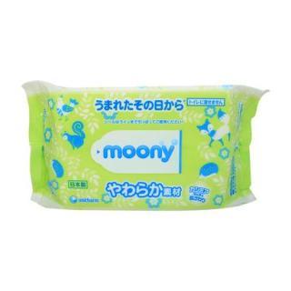 Giấy ướt cao cấp Moony Nhật bản, Khăn giấy ướt Moony Nhật bản (80 tờ), Hàng Nhật nội địa thumbnail
