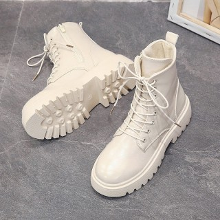 Trẻ Em Bé Gái Dr. Martens 2020 Năm Mẫu Mới Cho Mùa Đông Phong Cách Anh Bốt Ngắn Học Sinh Tiểu Học 13 Tuổi Mịn Hơn Giày Boots thumbnail