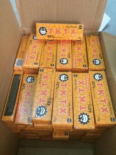 Kem Tktx dùng trong phun xăm thẩm mỹ