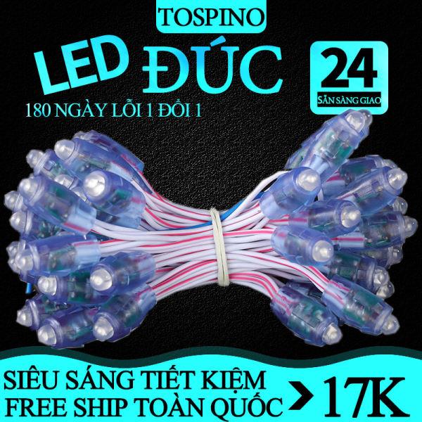 Bảng giá [ BẢO HÀNH ] Đèn LED đúc , led hạt, đèn led quấn cây, đèn Led trang trí ngoài trời, đèn LED quảng cáo chống nước 5V