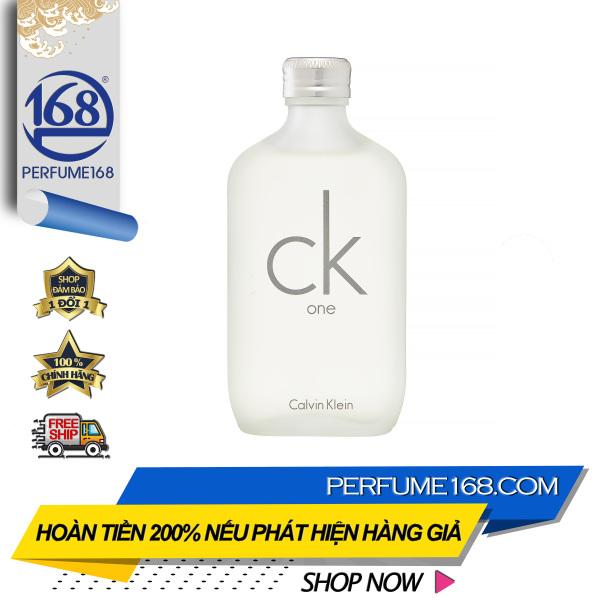 Nước hoa unisex, nước hoa cao cấp Calvin Klein CK One, giá tốt tại Perfume168 cao cấp