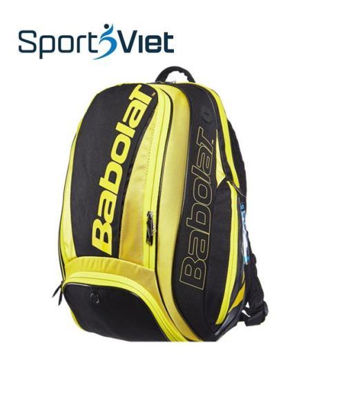Bảng giá Balo Tennis Babolat mầu vàng đen, balo thể thao chuyên dụng