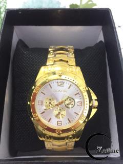 Đồng hồ nam nữ thời trang thông minh Rosra mặt trắng cực đẹp ZO55 thumbnail