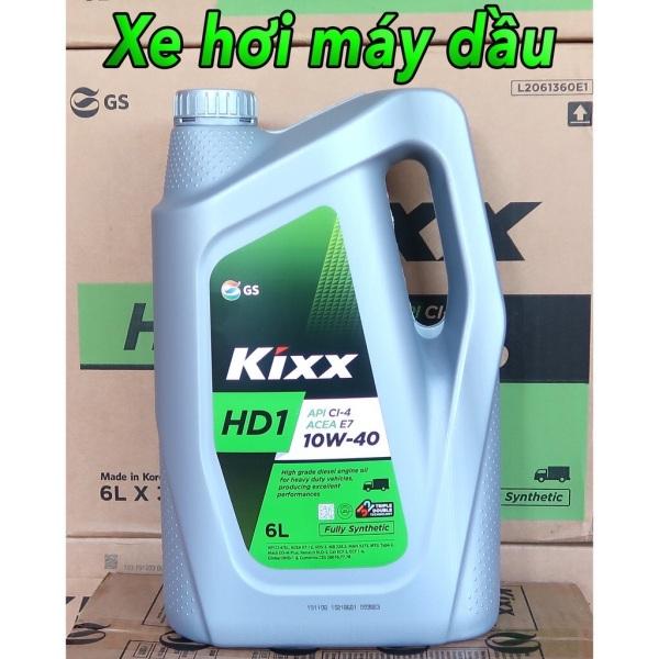 Kixx HD1 10W-40 Fully synthetic