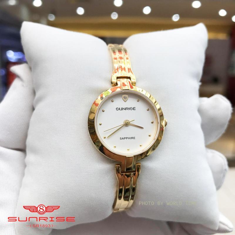 Nơi bán Đồng hồ Nữ Sunrise SL713SWA - Full Box , Thẻ BH hãng - Kính Sapphire chống xước, chống nước