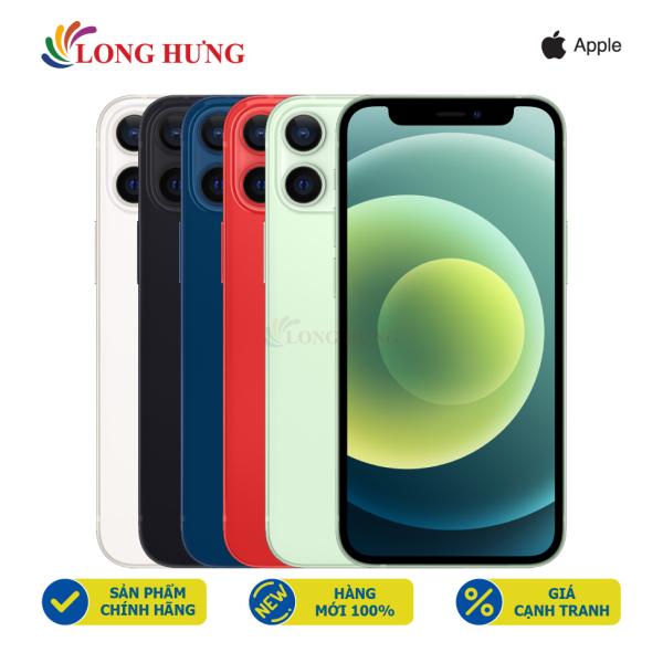 Điện thoại Apple iPhone 12 64GB (VN/A) - Hàng chính hãng - Màn hình 6.1inch Super Retina XDR, Camera kép, Pin 2815mAh hỗ trợ sạc nhanh