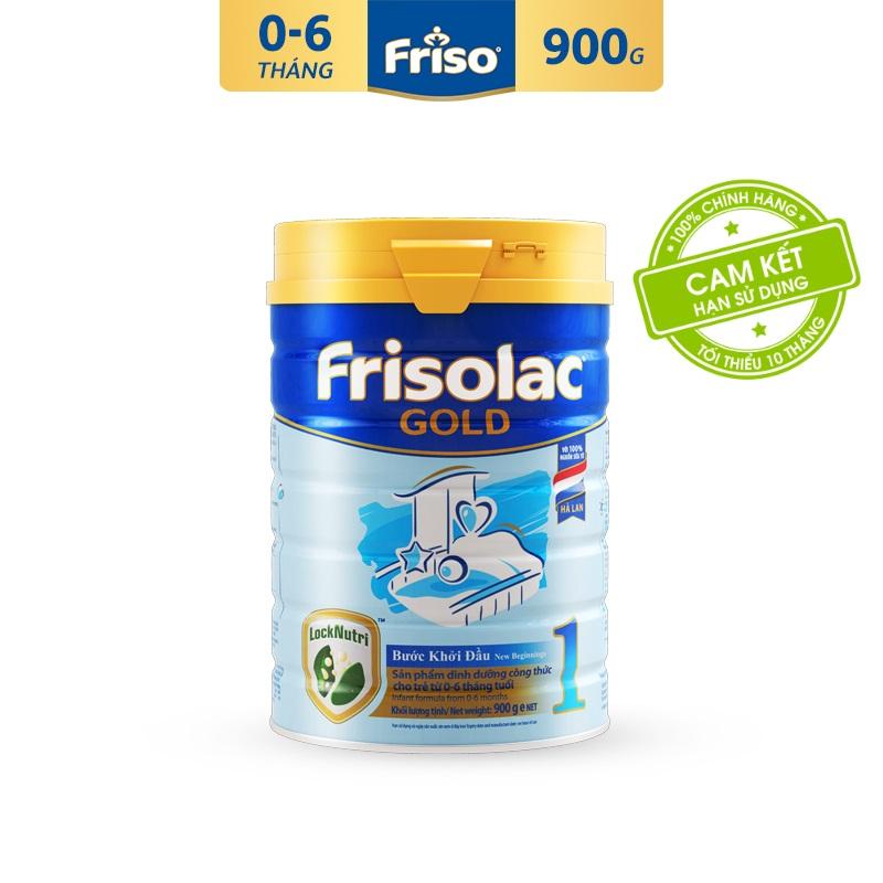 Tiết Kiệm Cực Đã Khi Mua [Freeship Toàn Quốc] Sữa Bột Friso Gold 1 900g Sản Phẩm Dinh Dưỡng Công Thức Cho Trẻ Từ 0-6 Tháng