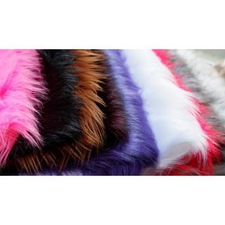 Thảm lông chụp hình size nhỏ nhiều màu (lông dài) thumbnail