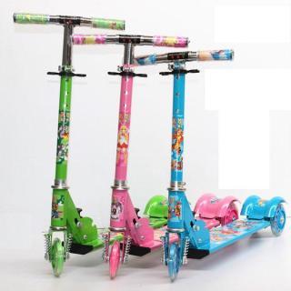 Xe scooter sắt có đèn cho bé đồ chơi trẻ em xe đồ chơi xe scooter xe trượt trẻ em - đồ chơi ngoài trời - đồ chơi - đồ chơi vận động - quà tặng cho bé yêu 3