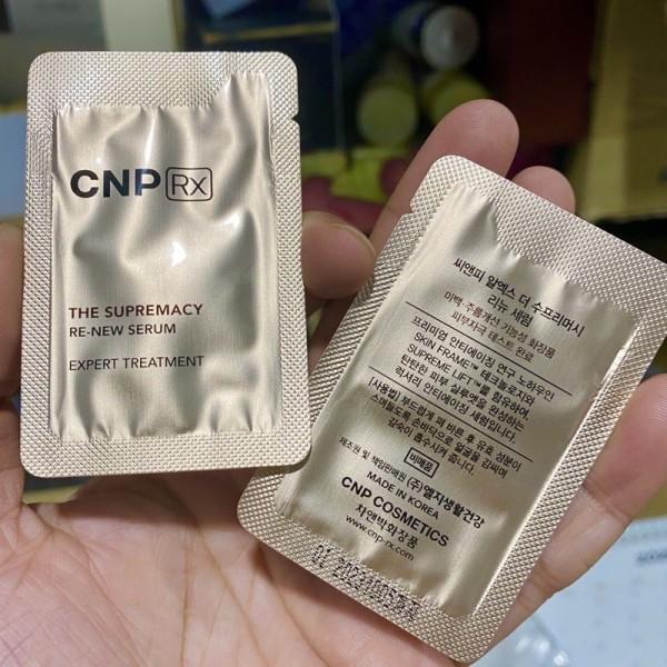 Combo 10 Gói Gói Serum Trẻ Hóa Cnp Rx| -