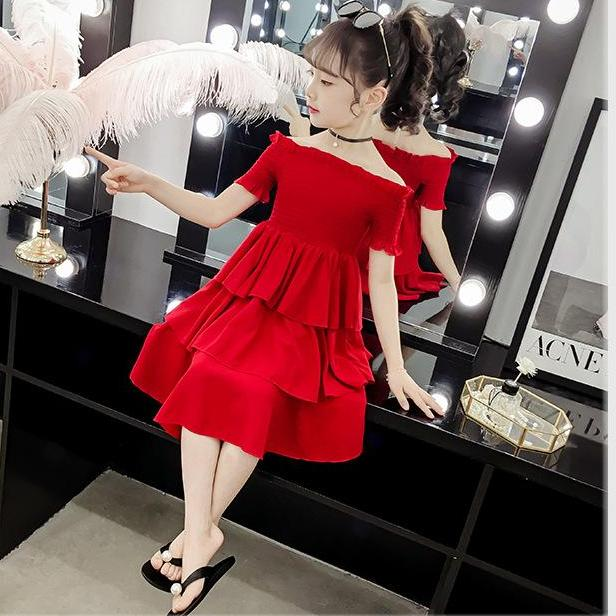 Giá bán Váy 3 tầng dành cho bé gái size 15-36kg