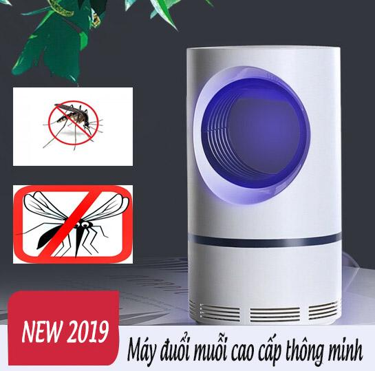 Đèn hút muỗi cao cấp, Dụng cụ bắt muỗi hiệu quả, Đèn bắt muỗi  thông minh an toàn hiệu quả, Cơ chế bắt muỗi bằng ánh sáng đèn Led thu hút muỗi, các loại côn trùng khác tiêu diệt hoàn toàn bằng quạt hút chỉ có tại Lazmart
