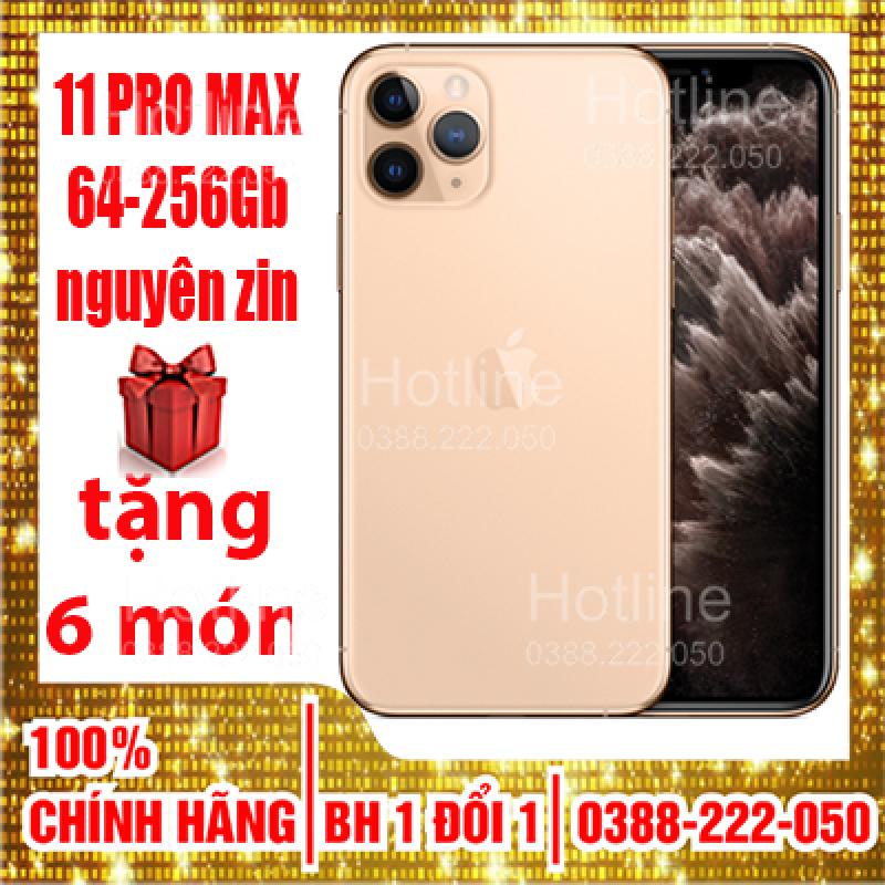 Điện thoai iPhone 11 Pro Max 256GB Quốc Tế Mới 99% Bảo Hành 12 Tháng 1 ĐỔI 1  trên toàn quốc