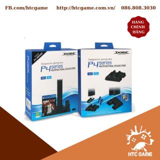 Chân đế quạt tản nhiệt + Kệ đĩa + Sạc 2 tay cầm 3 in 1 cho PS4 PRO Slim các đời máy PS4 thumbnail